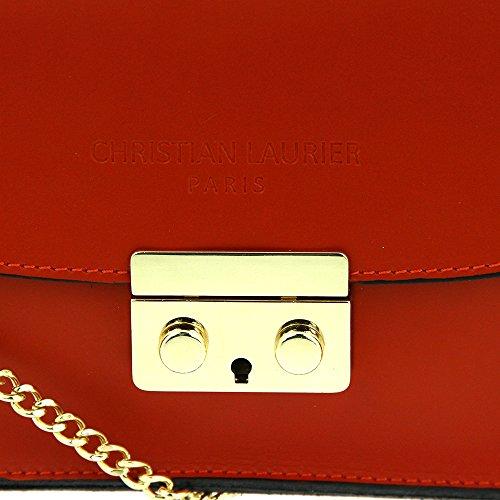 Christian Laurier  Polly, Sac pour femme à porter à l'épaule rouge