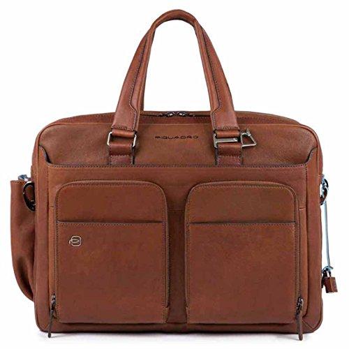 Piquadro BagMotic borsa porta PC e porta iPad®Air/Pro 9,7 con CONNEQU, Cuoio - CA3950B3BM/CU