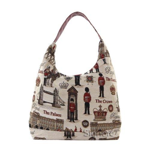 Signare besace sac d'épaule tapisserie mode femme Garde Royale