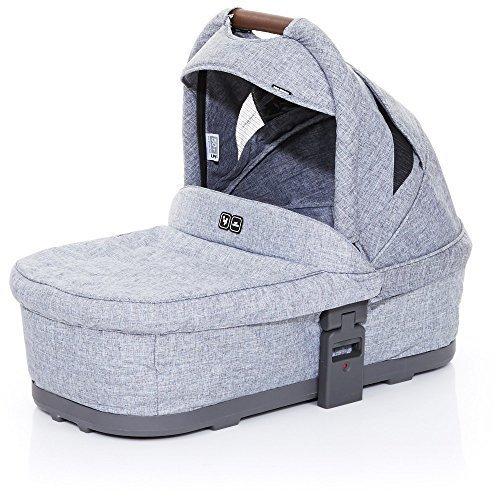 ABC Design 91254603Carrycot Plus Babywanne Weich Für Cobra und Mamba, Street/Graphite Grey