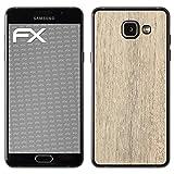 atFolix Samsung Galaxy A5 (2016) Skin FX-Wood-Bleached-Oak Designfolie Sticker - Holz-Struktur/Holz-Folie