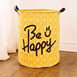 Gaddrt Dirty Clothes Underwear Basket, Sheets Laundry Clothes Bags, Laundry Basket Storage Basket Box, Folding Waterproof with Great Capacity (A)