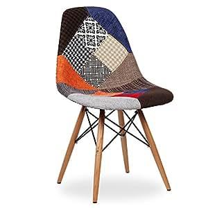 nufurn Designer Dining Chair (Multicolour)