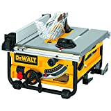Dewalt DW745 scie portatif 240v UK Import (Dewalt DW745 Portable Table Saw 240v) ** UK PLUG Livré avec adaptateur**