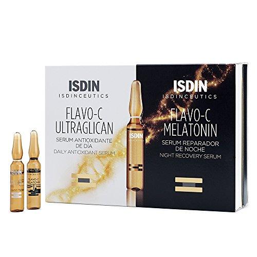 Isdinceutics Flavo-C Ultraglican & Melatonin 20 ampollas (10+10)