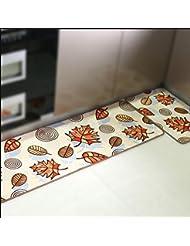 CHENGYI Alfombra La puerta del pasillo Alfombras de puerta cocina Otomanos cuarto de baño Estera antideslizante Tiras largas Absorción de agua Hogar Alfombrillas de baño alfombrillas de tierra ( Tamaño : 38*118cm )