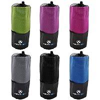 Asciugamani in Microfibra - Asciugamano Asciugatura Rapida Per Nuoto e Piscina, Sport, Palestra, Campeggio, Yoga, Pilates by MountFlow