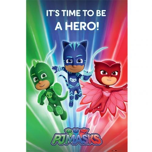 Pj Masks Poster Hero 214