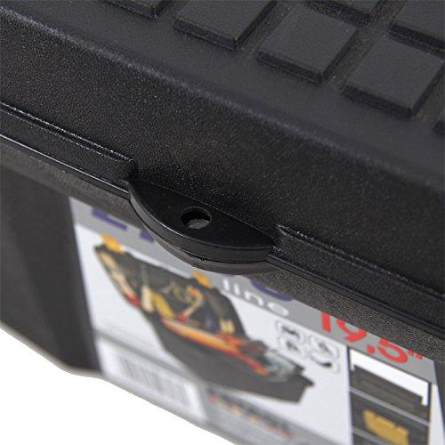 Kunststoff Werkzeugkoffer ERGO Basic 27″, 60x34cm Kasten Werzeugkiste Sortimentskasten Werkzeugkasten Anglerkoffer - 6