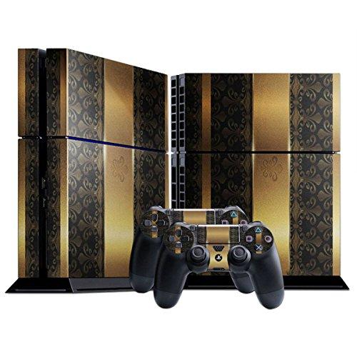 ticker Skin Aufkleber Schutzfolie mit Farbenfrohem Design für Playstation 4 CUH 1000 1100 ()