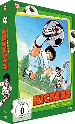 Kickers - Gesamtausgabe - Slimpackbox (4 DVDs) (Fußball-filme-dvd)