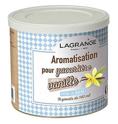 Lagrange - 380310 - Pot de 425g arome vanille pour yaourtière