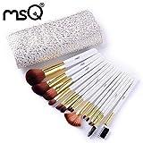 Vovotrade® Vovotrade 15 PCS MSQ Make-up Pinsel Set Werkzeuge Make-up Toiletten-Kit Nylon Make-up Pinsel-Set