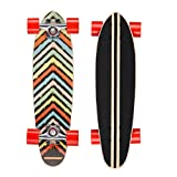 Osprey Splat Skateboard Mini Cruiser Multicolore