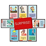 #6: Exciting Lives Reasons Dad is The Best Cards Set - Birthday Anniversary Gift for Father
