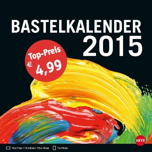 Bastelkalender klein schwarz 2015