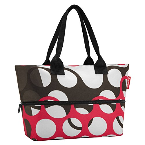 Reisenthel Shopper E1 Sporttasche, 50 cm, Artist Stripes rings