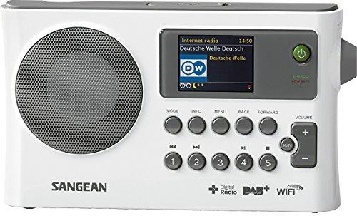 Sangean WFR-28C - Radio de internet, blanco