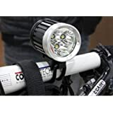 4 Modes 3000 Lumens 3x CREE XML T6 LED Rechargeable Cycling Bike Bicycle Head Light HeadLamp HeadLight for all Outdoor Sports