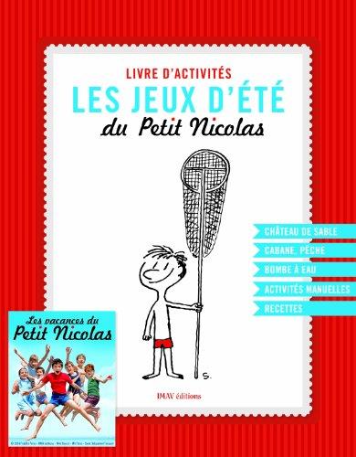 Les jeux d'été du Petit Nicolas : Livre d'activités