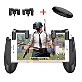 KACOOL Trigger Controller Gamepad Sensitive Shoot and Aim Fire Buttons L1R1 (Game Triggers+Gamepad Handle-2)