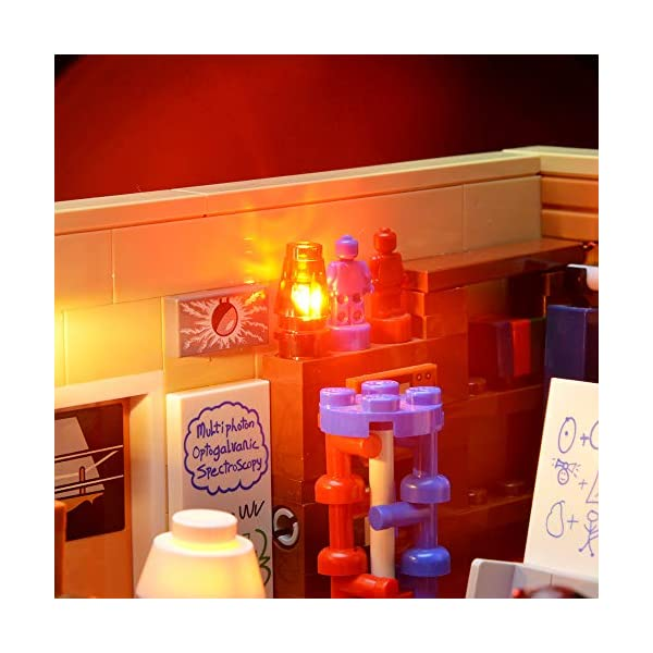 BRIKSMAX Kit di Illuminazione a LED per The Big Bang Theory, Compatibile con Il Modello Lego 21302 Mattoncini da… 3 spesavip