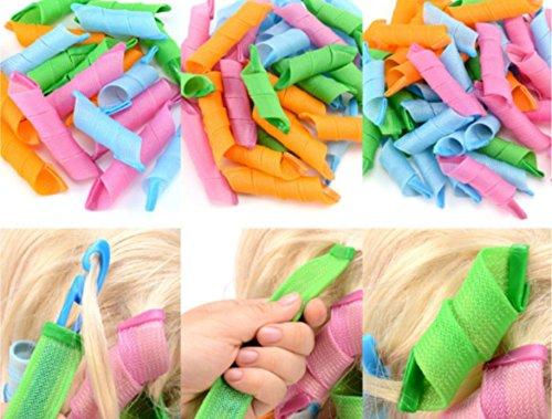 Shentian 36 Lockenwickler Weich Flexible Locken Haar schafft Locken Lockig Frisur Lockenwickler