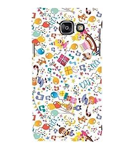 EPICCASE joy of celebration Mobile Back Case Cover For Samsung Galaxy A3 (Designer Case)