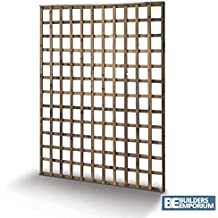 Square Garden Trellis Pressure Treated Timber Garden 6ft All Sizes Available (6ft x 1ft)