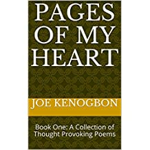 Pages of My Heart: Book One: A Collection of Thought Provoking Poems