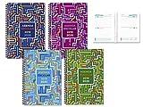 Agenda scolaire 19-20 1/4 2 jours par page Couverture polypropylène Assortiment à choisir 1