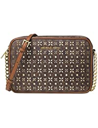 MICHAEL Michael Kors Jet Set Travel Large Perforated Logo Crossbody