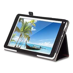 PRESTO 10 pouces Tablette tactile + Housse Case (IPS, Quad Core, 16GB, GPS, HDMI, Bluetooth, Google Android 5.1, 5M Camera)