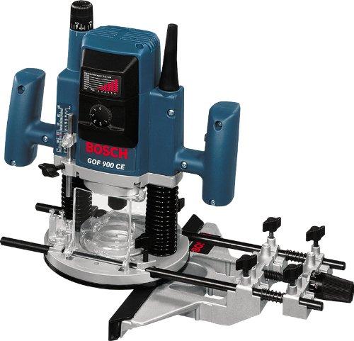 Bosch GOF 900 CE Professional Oberfräse im Karton mit Kopierhülse, Spannzange, Absaugadapter, Gabelschlüssel, Parallelanschlag und Zentrierstift - 2