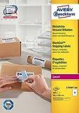 Avery Zweckform L7166-100 Versand-Etiketten (A4, 600 Stück, 99,1 x 93,1 mm) 100 Blatt weiß