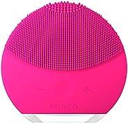 Foreo Luna mini 2 Cepillo Facial Sónico de Silicona, Rosa (Fuchsia)