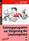 Trainingsprogramm: Steigerung d. Lesekompetenz: 5. bis 10. Klasse