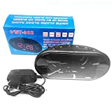 220 V für die UKW UKW-Radiogeräte Dual-Reloj-LED-Reloj-LED-Digital-Reloj-Leuchtmelodie Snooze-Elektronik für Elektrogeräte in den USA