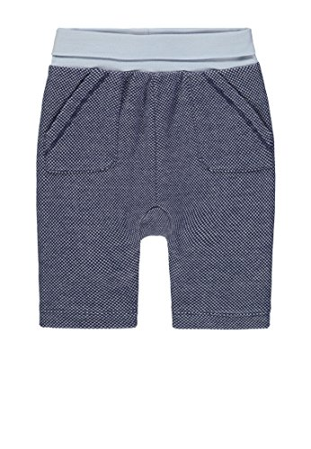 Steiff Steiff Baby - Jungen Jogginghose Jogginghose, per Pack Blau (original|Multicolored 0004), 50 (Herstellergröße: 50)