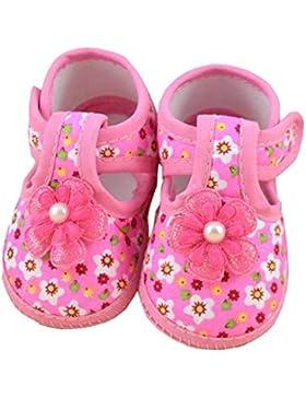Babyschuhe Longra Baby Blume Stiefel weiche Krippe Schuhe Kind Schuhe Lauflernschuhe(0 ~ 10 Monate)