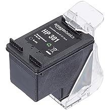 AmazonBasics - Wiederaufbereitete Tintenpatrone für HP 301, Schwarz
