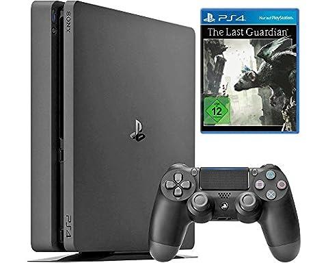 Sony Playstation 4 - Konsole (1TB, schwarz, Slim) inkl. The Last Guardian [CUH-2016B] (Sony Playstation 4 Preis)