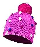 Buff Kinder Knitted und Polar Hat Mütze, Odell Ibis Rose, One Size