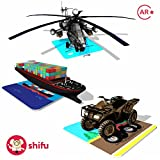 #6: Shifu Travel Augmented Reality Learning Games - iOS & Android (60 Vehicle Cards)