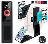 Obi Worldphone SF1 Hülle in schwarz Leder - innovative 4