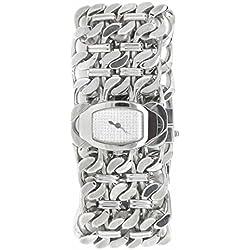 Roberto Cavalli Reloj mujer braccialato de acero y nácar
