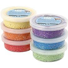 Creativ - Pasta de modelar en bolitas (6 x 20 g), varios colores metálicos