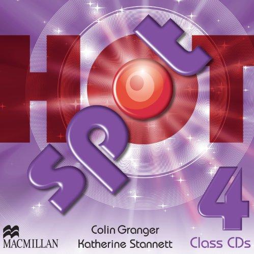 Hot Spot 4 Class CD x2