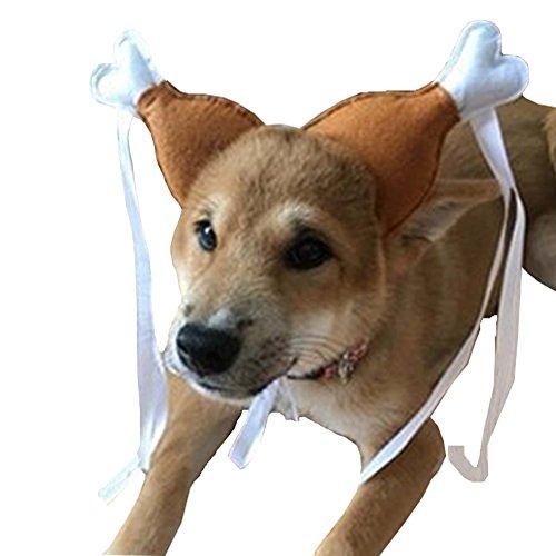 Bello Luna Türkei Chicken Drumstick Stirnband Hund Huhn Bein Hoop Party Lustige Stützen Katze Kopfschmuck Lovely Zubehör Kostüme (Huhn Kostüme Für Baby)