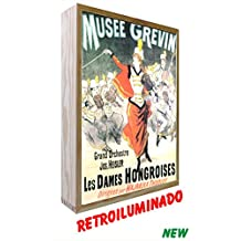 Cartel vintage de Madera Iluminados Musée Grévin (30_x_50_cms)